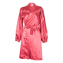 Red Negligee With Gown