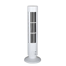 Hequeen NEW Mini Portable USB Cooling Air Conditioner Purifier Tower Bladeless Desk Fan