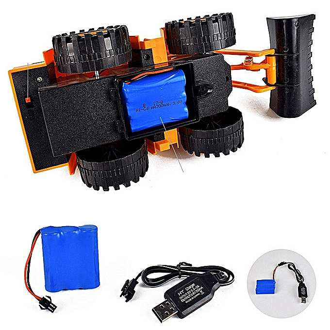 Remote Control Car Electric RC Engineering Vehicle Model Sim