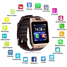 Wearable Devices DZ09 Smart Watch Support SIM TF Card Electronics Wrist Watch Connect Android Smartphone DZ10 Smartwatch Gold