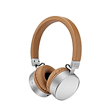 USAMS LH001 Stereo Heavy Bass AUX-in On-Ear Wireless Bluetooth Headphone Headset With Mic