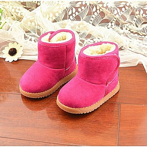 889336554dfa Fashion New Infant Toddler Baby Girls Boots Boys Kids Winter Thick ...