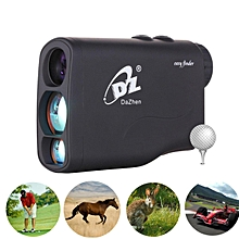 Waterproof 600m Golf Laser Rangefinder Portable Measure Distance Meter Tester with 20 Seconds Scan
