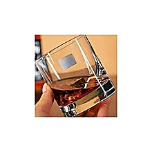 Round Drinking Glasses - 6 Glasses - Clear