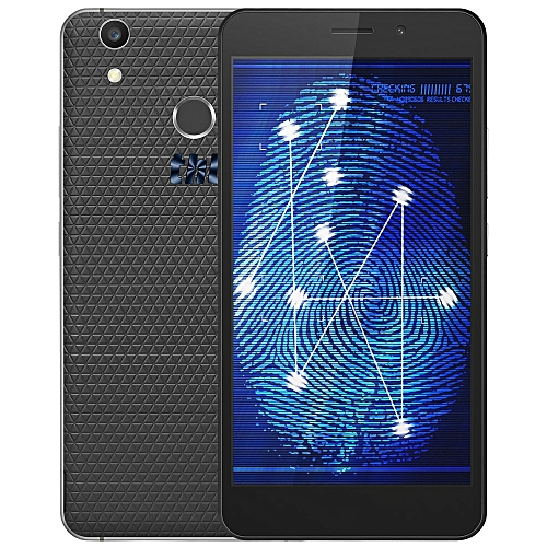 T9 Plus Android 6.0 5.5 Inch 4G Phablet MTK6737 Quad Core 1.3GHz 2GB RAM 16GB ROM Dual Cameras Fingerprint Scanner-BLACK