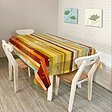 Southeast Asia Rural Home Decor Colorful Lattice Retro Pattern Table Cloth Dining Tablecloth Cover 150*210cm