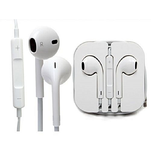 4d1bccd81cf Generic 3.55 mm Phone and mp3 Ear pods by apple @ Best Price Online ...