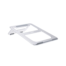 BUBM Laptop Stand Bracket Foldable and Hollow Cooling Aluminum Portable PC Holder for Apple Macbook and Most Computers