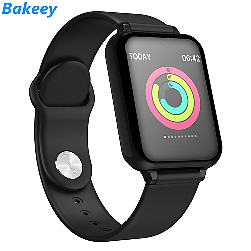 IP67 Smart Watch 24H Heart Rate Monitor Sport Modes Stopwatch iOS Android  Phone