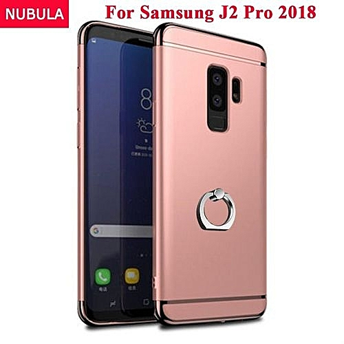 new concept c308f 8a1dc Phone Case For Samsung Galaxy J2 PRO 2018/J250 3 In 1 Hard PC Protective  Back Cover Case/Anti Falling Phone Cover/Shockproof Phone Case With Metal  ...