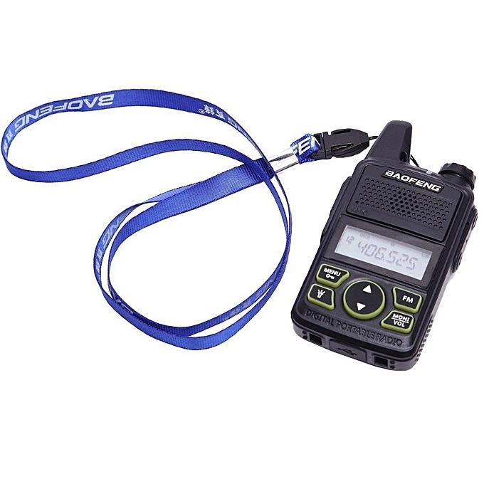 fb1be9db125 ... 2pcsBF-T1 MINI Kids Walkie Talkie UHF Portable Two Way Radio FM  Function Ham T1
