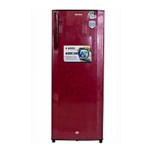 BRS 230 - 200L - Single Door Refrigerator- Red