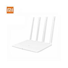 WiFi 3 Router Xiaomi Mi EU Plug Smart 4 Antennas 1167Mbps Dual Band- White