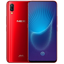 vivo NEX, 8GB+128GB, Not Support Google Play, Dual Back AI Cameras, Lifting Type Front Camera, Front Screen Fingerprint Identification, 4000mAh Battery, 6.59 inch Android 8.1 Qualcomm Snapdragon 845 Octa Core, Network: 4G (Red)