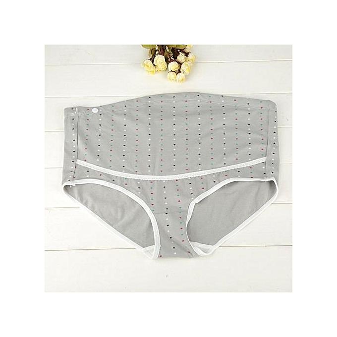23871bfbfef17 ... 3Pcs/Lot Cotton Maternity Panties Underwear Underpants High Waist Briefs  For Pregnant Women ...