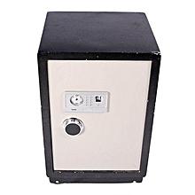 Safe Box - 75 kg with Fingerprint Security - Black