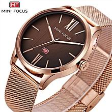 MINIFOCUS 2017 New Top Fashion Brand Mens Watches Luxury Casual Quartz Watch Stainless Steel Mesh Strap Clock Relogio Masculino 0018