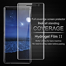 Anti Glare Hydrogel Film 2th Gen For Nokia 8 Sirocco 3D Full Cover Screen Protector For Nokia 8 Sirocco Screen Protector