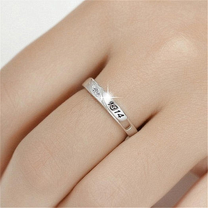 Buy Sunshine Lover Trendy Romantic Crystal 520 1314 Rings