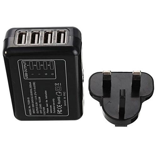 UNIVERSAL 4 Ports USB Multi Adapter Travel Wall AC Charger - Jumia Kenya