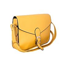 Yellow Satchel Shoulder Tote Handbag
