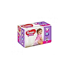 Pants Girl, Size 4 (9-14kgs) - 34 Diapers