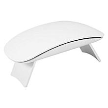 Fashionable 6W Mini Nail Art Polish Dryer UV Gel Drying Light Manicure Curing Lamp (White)