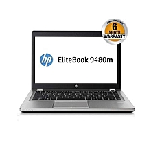 "Refurb Elitebook Folio 9480m - 14"" - Intel Core i7 - 8GB RAM - 500GB HDD - win 10 - Silver"