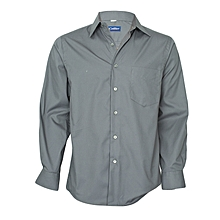 Charcoal Grey Long Sleeved Shirt