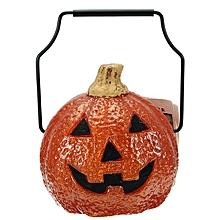 Halloween Portable Pumpkin Light Battery Power Supply For Home Decoration Children Gift-