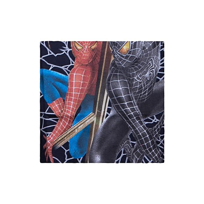 f47f58ab Generic Boys Fashion Spider-man Web Long sleeve T-shirt - Black ...