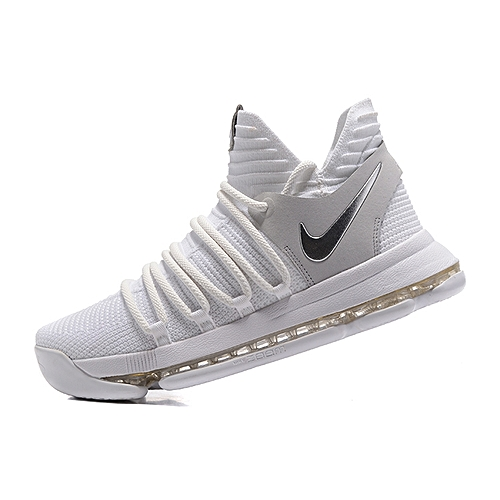 Fashion NBA NlKE KD10 Men s Basketball Shoes 2018 Kevin Durant Sports  Sneskers - White c5fdf8bb4aac