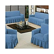 Sofa Seat Covers – 3+2+1+1  – Blue