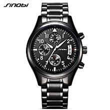 Fashion Casual Quartz Watch 3ATM Water-resistant Men Watches Luminous Wristwatch Male Relogio Musculino Timer Calendar