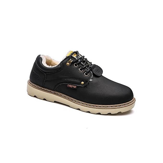 68b4317dab Smart Simple Pure Color and Cotton Casual Men s Shoes-BLACK   Best ...