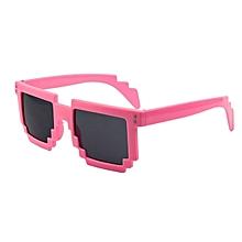 Mosaic Style Uv400 Uv Protection Sunglasses(pink)