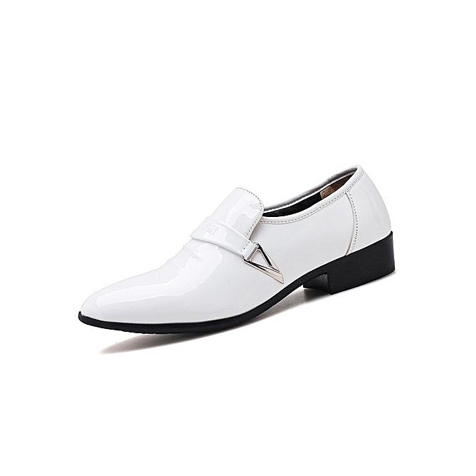 Tauntte Plus Size Point Formal Office Moccasins Men Casual Shoes
