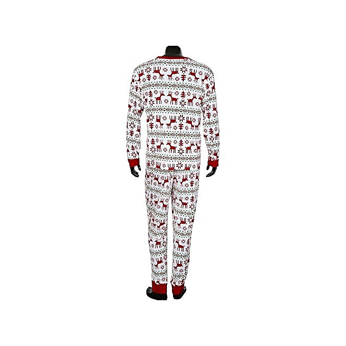 6a8d21999a ... Men s Underwear Intimates Christmas XMAS Adult Man Pajamas Set Deer  Sleepwear Nightwear Pyjamas Gift S  ...