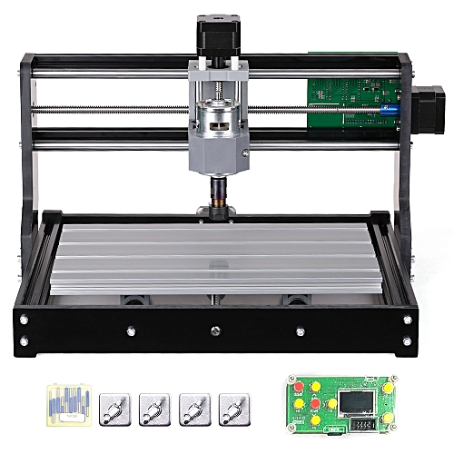 CNC3018 DIY CNC Router Kit Mini Engraving Machine GRBL Control 3 Axis for  PCB PVC Plastic Acrylic Wood Carving Milling Engraving Machine with ER11