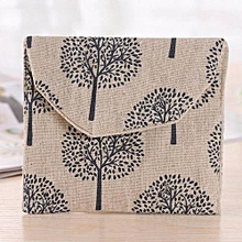 Fohting Women Girl Cute Sanitary Pad Organizer Holder Napkin Towel Convenience Bags -H