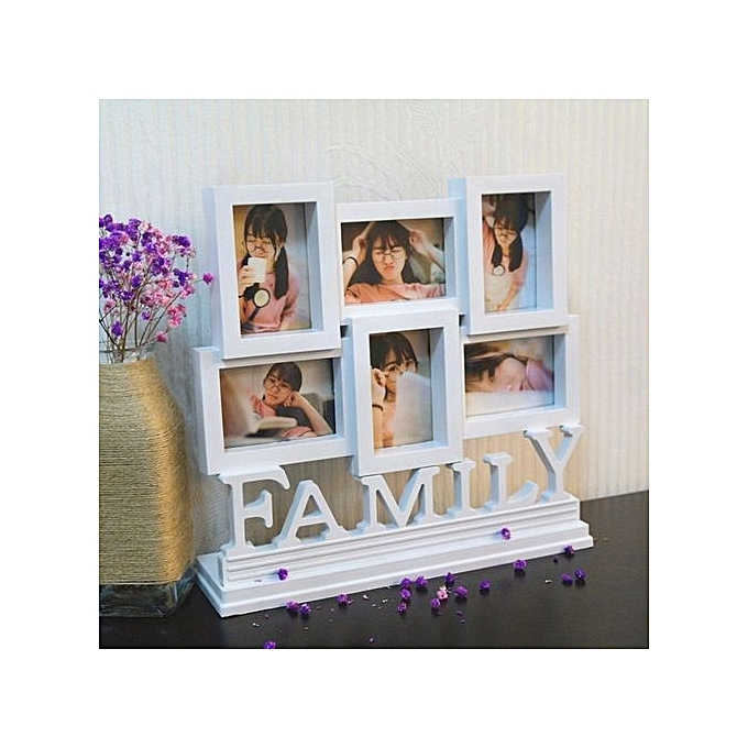 Buy UNIVERSAL Multi Photoframe Family Love Photo Frames Art Picture ...