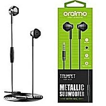 0EP E33 Oraimo Earphone - Black
