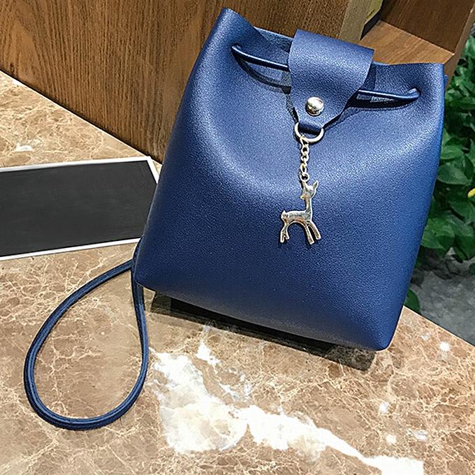 singedan shop Womens Leather Crossbody Bag small Deer Shoulder Bags Purse  Messenger Bag 8b0eca5090