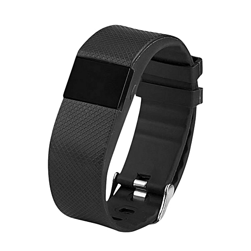 TLW64A Bluetooth Smartband Waterproof Heart Rate Monitoring Smart Bracelet black