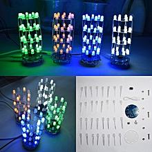 Geekcreit® DIY Mini Star Flashing LED Cylinder Kit With 23 Flashing Mode