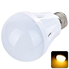 E27 9W 700LM 20 x SMD 5730 LED Warm White Light 3000K Cream Ball Bulb Lamp AC 220V - Warm White