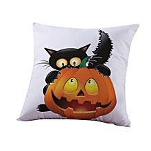 Halloween Pillow Cases  Linen Sofa Pumpkin ghosts Cushion Cover Home Decor D