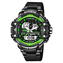 Sports Fashion Men Watches 5ATM Water-resistant Electronic Watch Luminous Man Wristwatch Male Watch Chronograph Alarm Clock Date Display