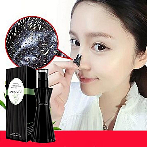 Deep Cleansing Acne Blackheads Removal Shrink Pores Nose Facial Skin Care  Mask - N/A