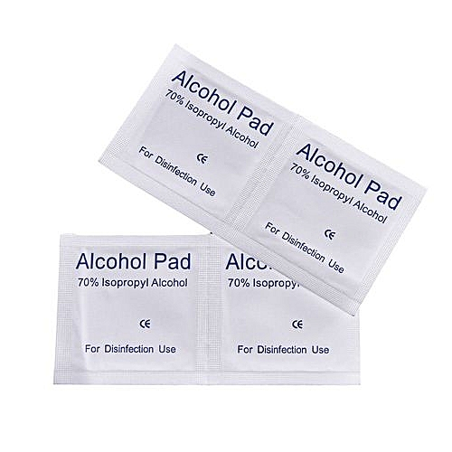 10 Pieces Isopropyl Alcohol Wipes - CPU , GPU , Processor Thermal Paste  wipes